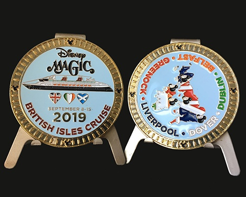 Custom challenge coin, coins, buy challenge coins, challenge coins, design challenge coins, disney coin, disney cruise, disney gifts, buy custom coin